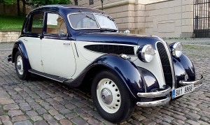BMW 326 svatební auto