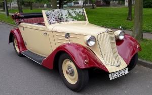 Tatra 75 otevřená