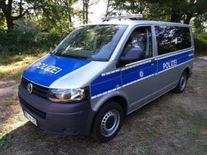 VW Transporter POLIZEI