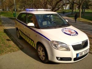 Škoda Fabia Městská Policie